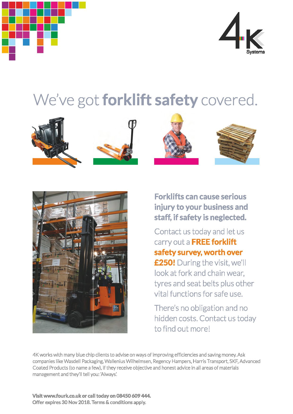 Forklift Safety Survey