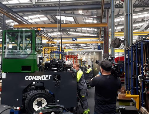 Combilift are Open For Irish TV Show