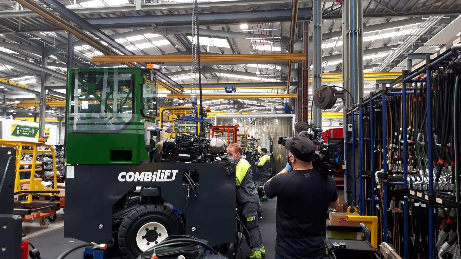 Combilift are Open For Irish TV Show